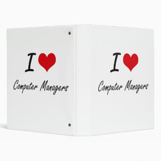 I love Computer Managers 3 Ring Binder