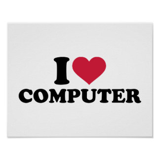 I love computer posters