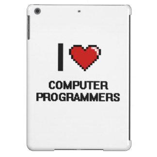 I love Computer Programmers iPad Air Case