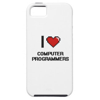 I love Computer Programmers iPhone 5 Cover