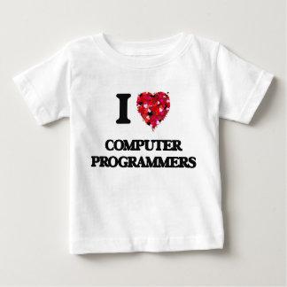 I love Computer Programmers Shirts