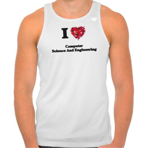 I Love Computer Science And Engineering New Balance Running Tank Top Tank Tops, Tanktops Shirts