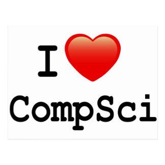 I love Computer Science Postcard