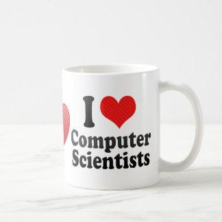 I Love Computer Scientists Mugs