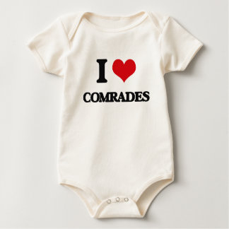 I love Comrades Baby Creeper