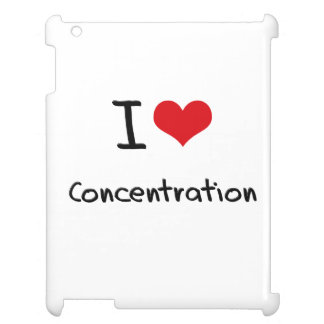I love Concentration Cover For The iPad 2 3 4