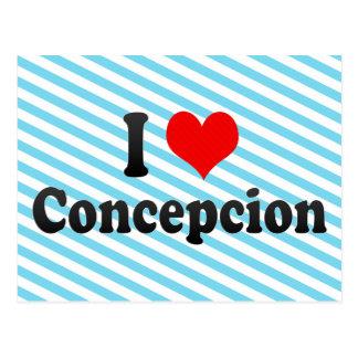 I Love Concepcion, Chile Postcard