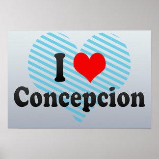 I Love Concepcion, Chile Poster