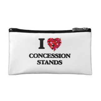 I love Concession Stands Cosmetic Bag