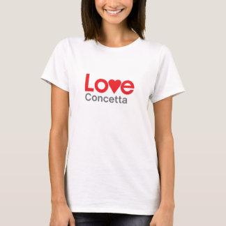I Love Concetta T-Shirt