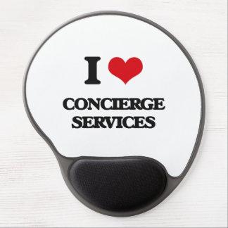 I love Concierge Services Gel Mouse Pad