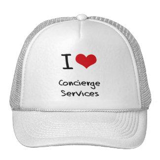 I love Concierge Services Hat