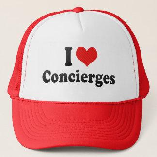 I Love Concierges Trucker Hat