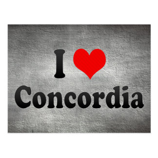 I Love Concordia, Argentina Postcard