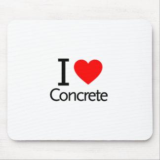 I Love Concrete Mousepads