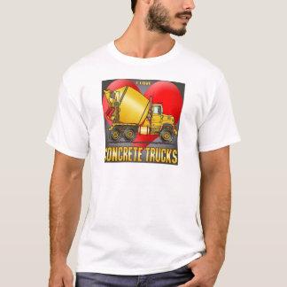 I Love Concrete Trucks Mens T-Shirt