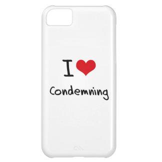 I love Condemning iPhone 5C Case