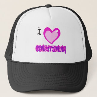 I LOVE Conditioning Trucker Hat