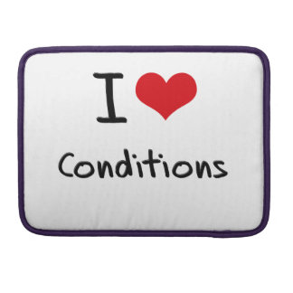 I love Conditions MacBook Pro Sleeve