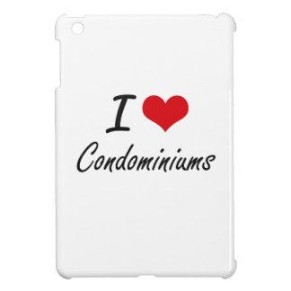 I love Condominiums Artistic Design iPad Mini Cases