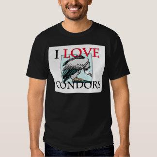 I Love Condors Tee Shirt