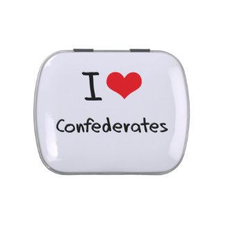 I love Confederates Jelly Belly Tins