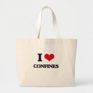I love Confines Jumbo Tote Bag