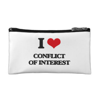 I love Conflict Of Interest Cosmetic Bags