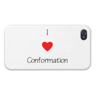 I Love Conformation iPhone 4/4S Case