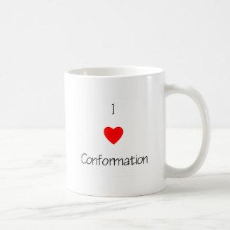 I Love Conformation Mug