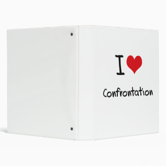 I love Confrontation Vinyl Binders