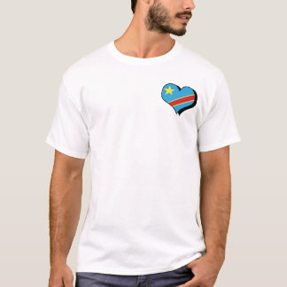 I Love Congo Democratic Republic T-Shirt