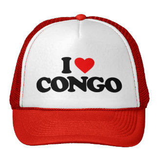 I LOVE CONGO HAT