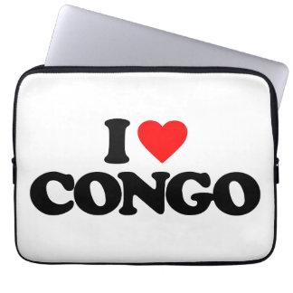 I LOVE CONGO COMPUTER SLEEVE