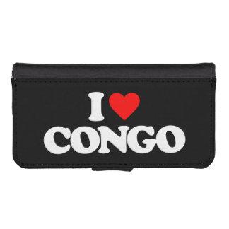I LOVE CONGO iPhone 5 WALLET CASE