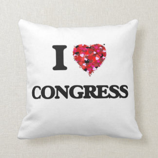 I love Congress Pillows