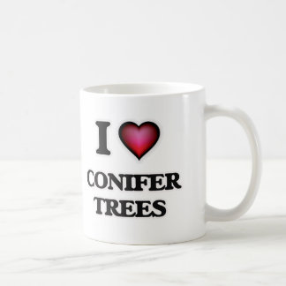 I love Conifer Trees Coffee Mug