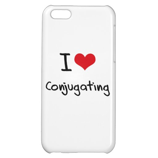 I love Conjugating iPhone 5C Covers