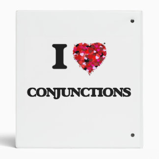I love Conjunctions Binder