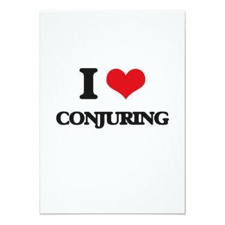 I love Conjuring 5x7 Paper Invitation Card