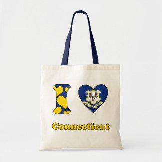 I love Connecticut Budget Tote Bag