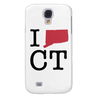 I Love Connecticut Galaxy S4 Cases