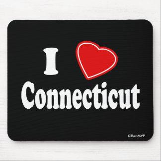 I Love Connecticut Mouse Pad