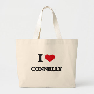 I Love Connelly Jumbo Tote Bag