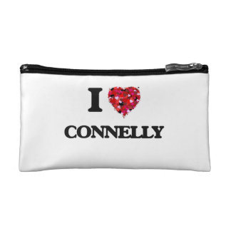 I Love Connelly Makeup Bags