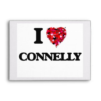 I Love Connelly Envelope