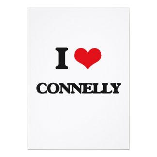 I Love Connelly 5x7 Paper Invitation Card