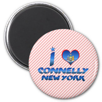 I love Connelly, New York Magnets