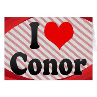 I love Conor Cards