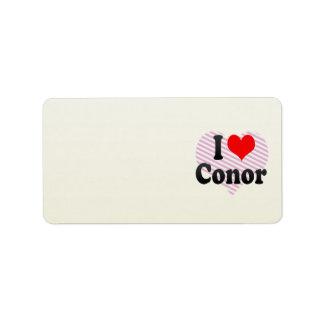 I love Conor Labels